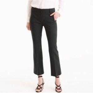 J. CREW Teddie Black Cropped Dress Pank Ankle Pant